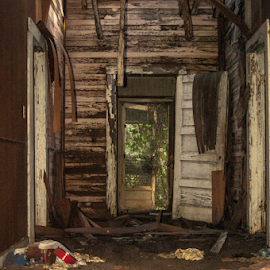 fallout by Trey Walker - Novices Only Objects & Still Life ( roof, fall, nikon, decay, abandoned )