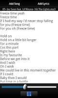 Screenshot of MY Lyrics