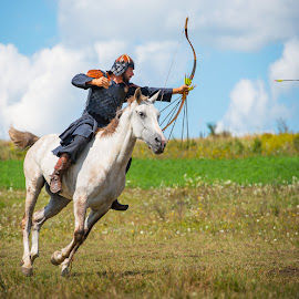 Hungarian Mounted Archery by Matthew Haines - Sports & Fitness Other Sports