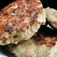 Cheese & Chicken Rissoles