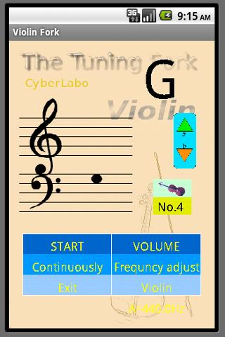 玩免費音樂APP|下載バイオリン音叉 app不用錢|硬是要APP
