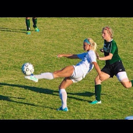 I really think Kylee should work on those leg muscles😏 by Pam Smith - Sports & Fitness Soccer/Association football
