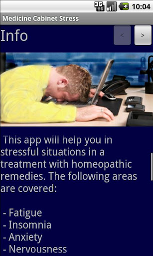Medicine Cabinet Stress