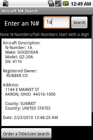 【免費書籍App】Aircraft N-Number Search-APP點子