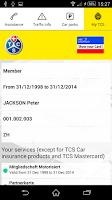 Screenshot of Touring Club Schweiz (TCS)