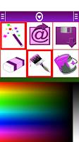 Screenshot of Princess Coloring Book Game