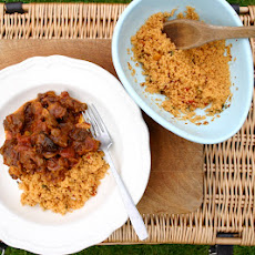 lamb tagine with Ainsley Harriott Moroccan Medley Cous Cous