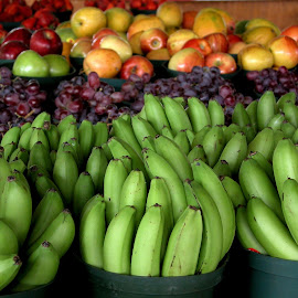 Fruit by Robin Morgan - Food & Drink Fruits & Vegetables ( farmers market, bananas, fruit stand, produce )