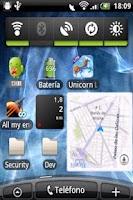 Screenshot of Where I Am Widget