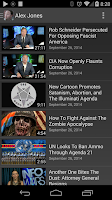 Screenshot of Alex Jones' InfoWars
