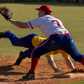 Pic off @ 1st Base by Cheryl Waring - Sports & Fitness Baseball