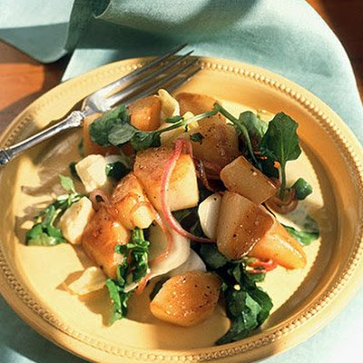 Warm Pear Salad