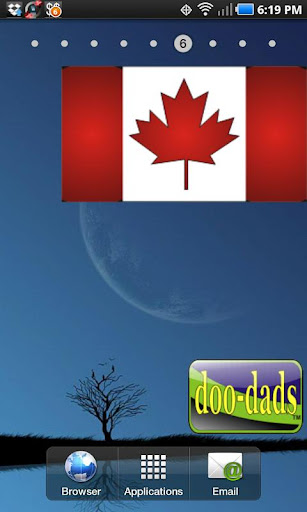 Canadian Flag doo-dad