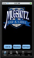 Screenshot of Mugshotz Pewaukee Lake Bar
