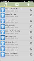 Screenshot of Christian  ringtones