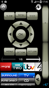 Remote for Sony TV/BD WiFi&amp