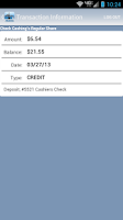 Screenshot of PDX8FCU Mobile Banking