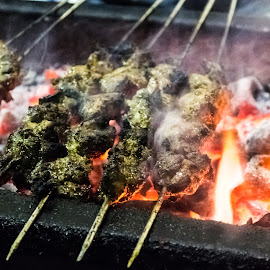 Chicken kebabs by Biswaroop De - Food & Drink Cooking & Baking ( chicken, food, cooking )