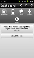 Screenshot of OHBM Annual Meeting 2012
