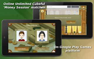 Screenshot of Backgammon Mobile - Online