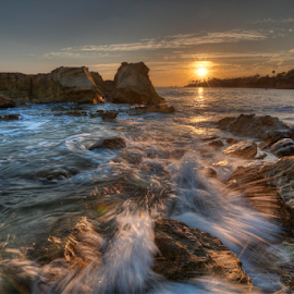 Sunset in Laguna by Christian Capucci - Landscapes Waterscapes ( seascapes, photography )
