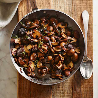 Mushrooms with Shallots and Sherry