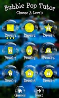 Screenshot of BubblePop Tutor Kids Game Free