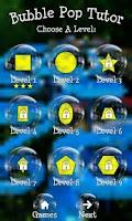 Screenshot of BubblePop Tutor Kids Game Free
