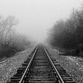 Gray tracks by Mike Dietze - Instagram & Mobile iPhone