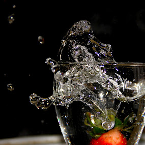 splash by Prachi More - Food & Drink Alcohol & Drinks ( strawberry )