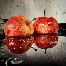 Water reflection of apples by Janette Ho - Food & Drink Fruits & Vegetables (  )