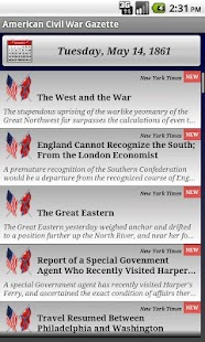 1862 Nov Am Civil War Gazette - screenshot