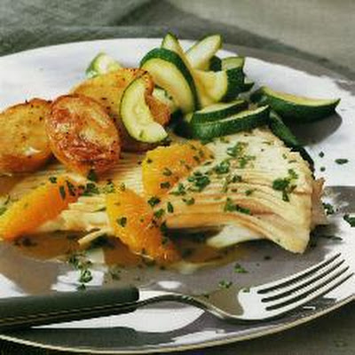 Skate With Citrus-honey Sauce