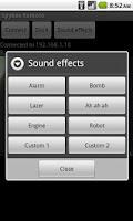 Screenshot of Spykee Remote