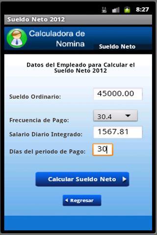 商業必備APP下載|Calculadora de Nomina 好玩app不花錢|綠色工廠好玩App