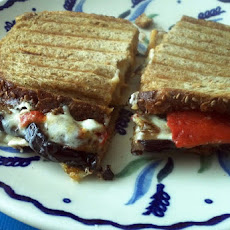 Three Cheese and Vegetable Grilled Panini