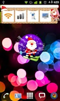 Screenshot of Christmas Sticker Widget Seven