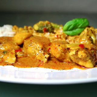 Easy Thai Coconut Curry Chicken
