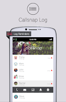 Screenshot of CallSnap - Snap Your Moment