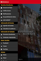 Screenshot of Uninorte.co
