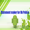 Police UK statement maker icon