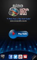 Screenshot of Rádio Nova Era FM 104,5