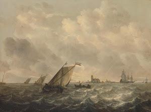 RIJKS: Abraham Hendricksz. van Beyeren: painting 1670