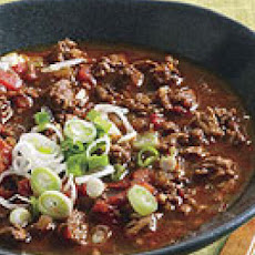 Lazy Jerky Turkey Chili