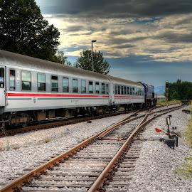 Train, Gospić by Cristian Peša - Transportation Trains