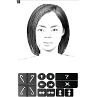 Screenshot of 몽타주 Montage(뻘짓하이에나)-얼굴만들기