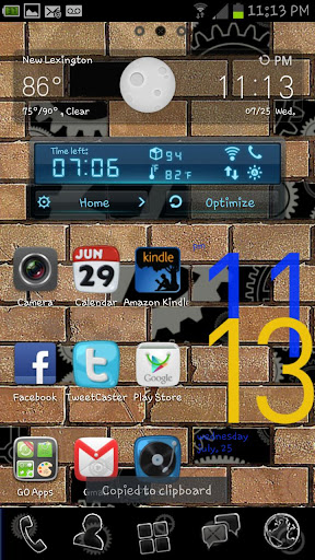 Bricks Gears Go Launcher Theme