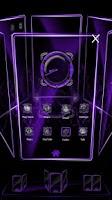 Screenshot of Bionic Launcher Theme Purple