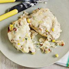 Crab-and-Corn Melts