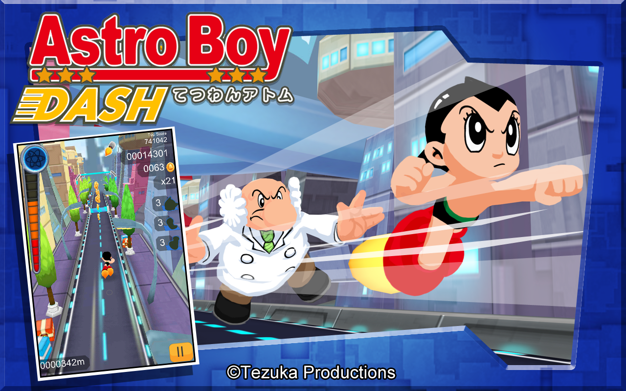 Astro Boy Dash Screenshot 8